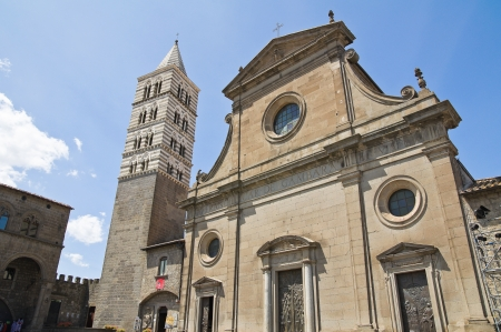 Cathedral of Viterbo. Lazio. Italy. Stock Photo - 15192140