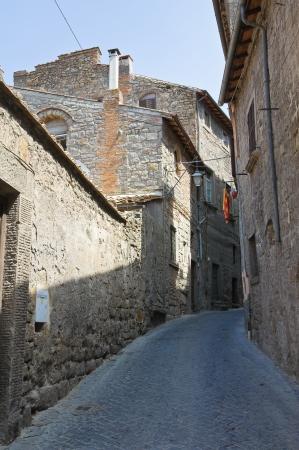 lazio: Alleyway. Viterbo. Lazio. Italy.