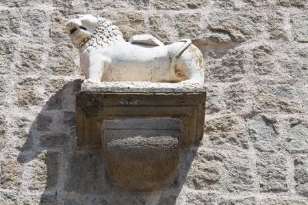 lazio: Papal Palace. Viterbo. Lazio. Italy. Stock Photo
