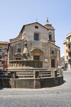 etrurian: Church of SS. Faustino and Giovita. Viterbo. Lazio. Italy.