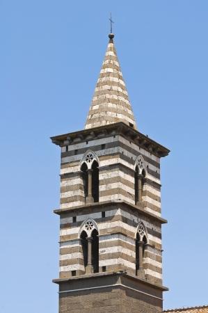 etrurian: Church of St  Giovanni Battista  Viterbo  Lazio  Italy  Stock Photo