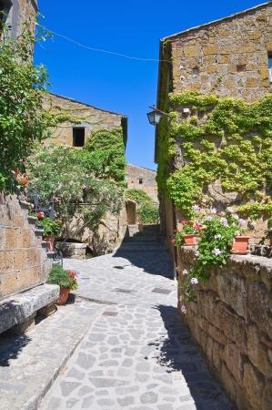 etrurian: Alleyway. Civita di Bagnoregio. Lazio. Italy.