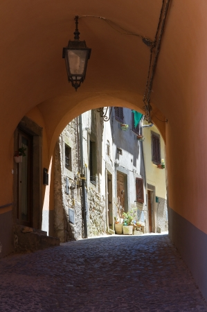 Alleyway  Montefiascone  Lazio  Italy  photo