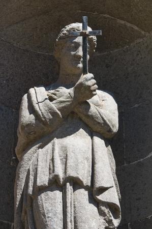 tuscia: Cathedral of St. Margherita. Montefiascone. Lazio. Italy. Stock Photo