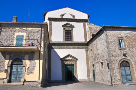 etrurian: Madonna delle Grazie Sanctuary. Montefiascone. Lazio. Italy.