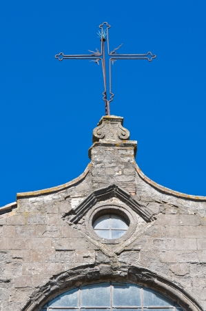 etrurian: Basilica of St. Flaviano. Montefiascone. Lazio. Italy.