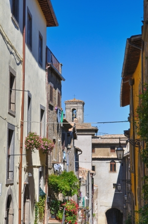 Alleyway. Montefiascone. Lazio. Italy. Stock Photo - 14951013