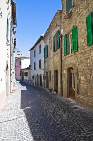 lazio: Alleyway. Montefiascone. Lazio. Italy.