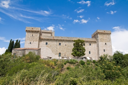 Albornoz fortress. Narni. Umbria. Italy. Stock Photo - 15079919