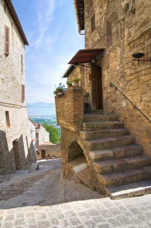 Alleyway. Narni. Umbria. Italy. photo
