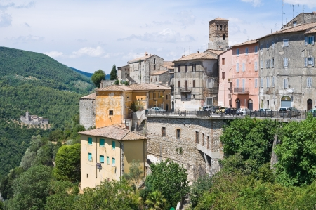 Panoramic view of Narni. Umbria. Italy. photo