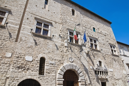 communal: Communal palace  Narni  Umbria  Italy  Stock Photo