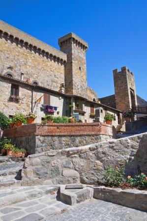 tuscia: Castle of Bolsena. Lazio. Italy.