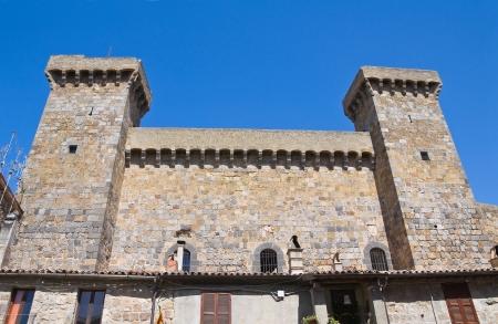 lazio: Castle of Bolsena. Lazio. Italy.