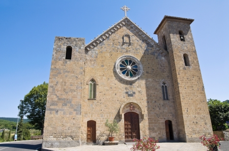 ss: Church of SS  Salvatore  Bolsena  Lazio  Italy  Stock Photo
