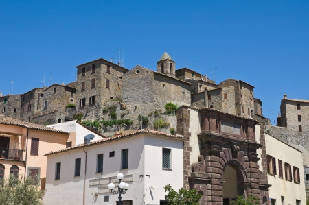 Panoramic view of Bolsena  Lazio  Italy  photo