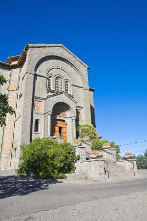 urbanistic: Church of Corpus Domini  Montefiascone  Lazio  Italy