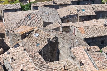 tuscia: Panoramic view of Bolsena. Lazio. Italy.