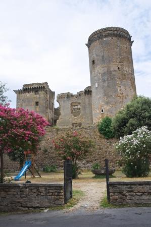 tuscia: Castle of Borgia  Nepi  Lazio  Italy