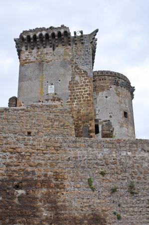 etrurian: Castle of Borgia  Nepi  Lazio  Italy
