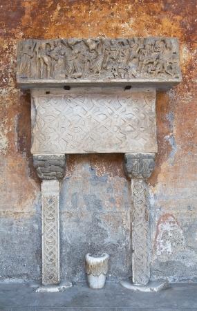 Cathedral of Nepi  Lazio  Italy Stock Photo - 15176128