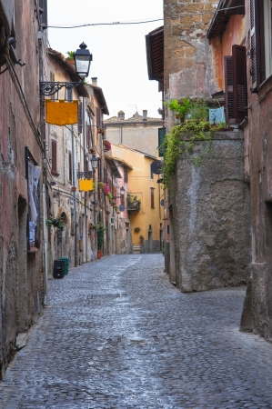 Alleyway  Nepi  Lazio  Italy  photo