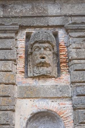 etrurian: Farnese Palace  Caprarola  Lazio  Italy