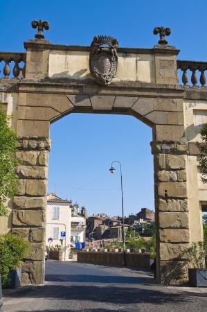 etrurian: Porta Romana  Ronciglione  Lazio  Italy