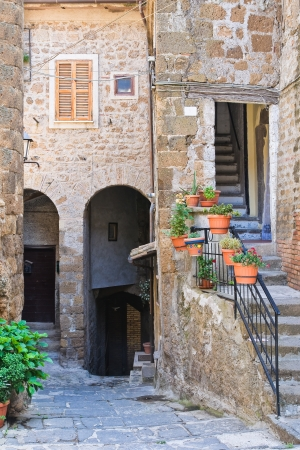 etrurian: Alleyway. Capranica. Lazio. Italy.