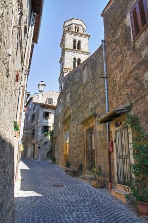lazio: Alleyway. Ronciglione. Lazio. Italy.
