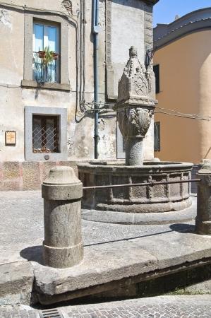 Fontana vecchia. Soriano nel Cimino. Lazio. Italy. photo