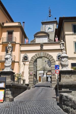 Porta romana. Soriano nel Cimino. Lazio. Italy. photo
