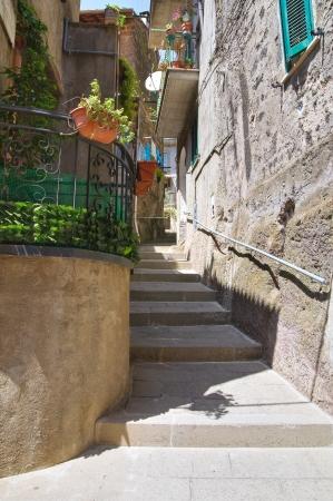 Alleyway. Soriano nel Cimino. Lazio. Italy. photo