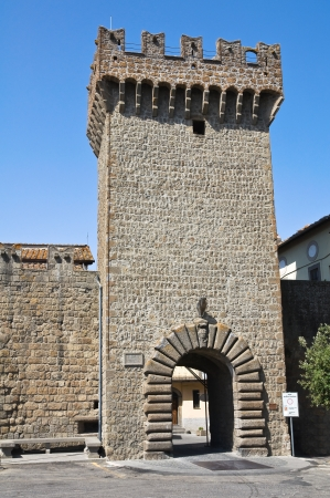 vitorchiano: Porta romana. Vitorchiano. Lazio. Italy.  Stock Photo