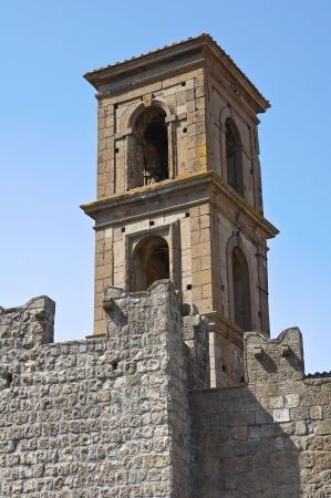 vitorchiano: Fortified walls. Vitorchiano. Lazio. Italy.  Stock Photo