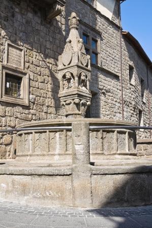 vitorchiano: Fontana del Fuso  Vitorchiano  Lazio  Italy   Stock Photo