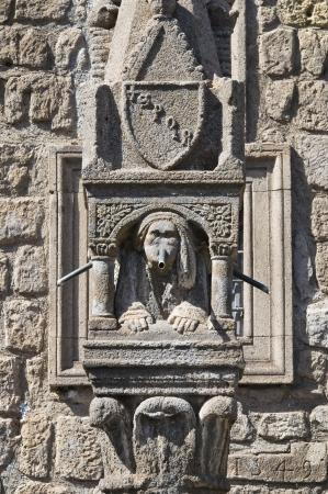 vitorchiano: Fontana del Fuso. Vitorchiano. Lazio. Italy.