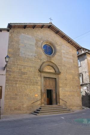 vitorchiano: Church of St. Amanzio. Vitorchiano. Lazio. Italy.  Stock Photo