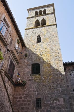 vitorchiano: Church of St. Maria Assunta. Vitorchiano. Lazio. Italy.  Stock Photo