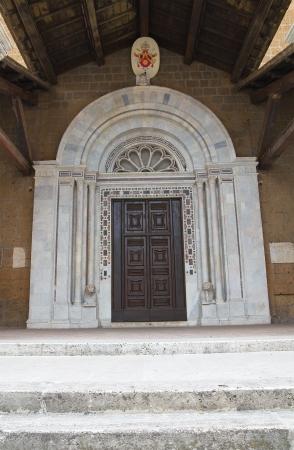 castellana: Cathedral of Civita Castellana. Lazio. Italy.