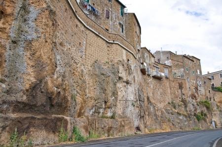 castellana: View of Civita Castellana  Lazio  Italy  Stock Photo