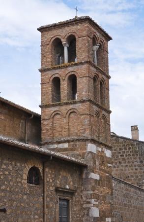 castellana: Church of Carmine  Civita Castellana  Lazio  Italy  Stock Photo
