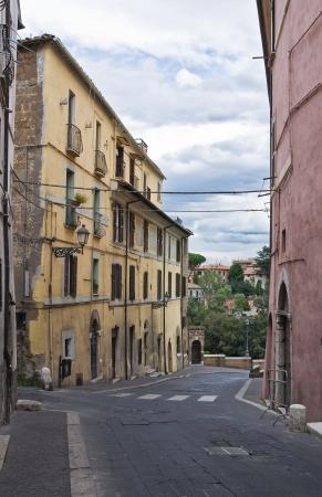 castellana: Alleyway  Civita Castellana  Lazio  Italy
