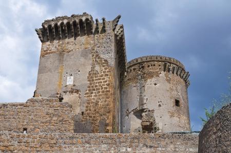 etrurian: Castle of Borgia. Nepi. Lazio. Italy.