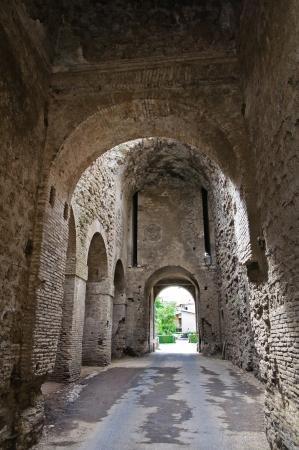 romana: Porta romana. Nepi. Lazio. Italy.