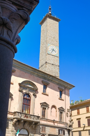 Palace of the Podest�. Viterbo. Lazio. Italy. Stock Photo - 15371365