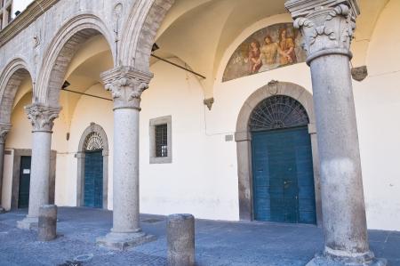 etrurian: Prior palace. Viterbo. Lazio. Italy.