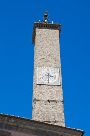 Palace of the Podest�. Viterbo. Lazio. Italy. Stock Photo - 15382628