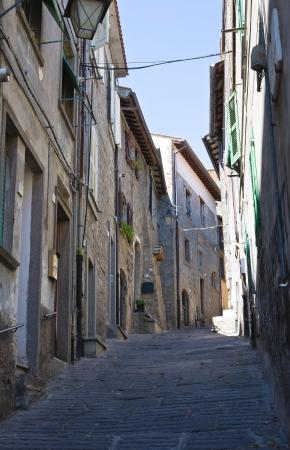 Alleyway. Viterbo. Lazio. Italy. Stock Photo - 15382380