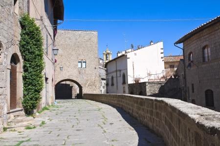 viterbo: Alleyway. Viterbo. Lazio. Italy.